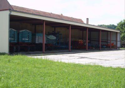 Stahlbau-Hallenbau - 01